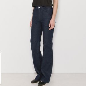 See by Chloe High Rise Flare Leg Indigo Jeans 29